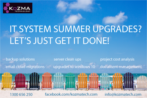 Kozma Tech IT Summer Upgrades